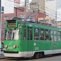 札幌市電で行先表示器のLED化進む