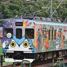伊賀鉄道200系に『伊賀線まつり』のPRヘッドマーク
