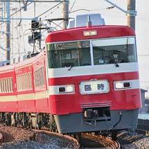 東武1800系1819編成による臨時快速列車運転