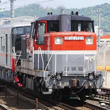 名鉄2200系+3150系が甲種輸送される