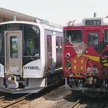 仙台駅・石巻駅でHB-E210系の見学会開催