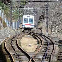 REPORT開業90周年 叡山ケーブルのロープ交換作業