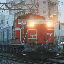 南海8300系8303編成・8304編成が甲種輸送される
