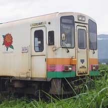 山形鉄道YR-885が運用離脱