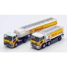 ザ・トラックトレーラーコレクションシェル石油ローリー2台セット
