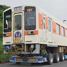 東海交通事業キハ11-201が,ひたちなか海浜鉄道へ