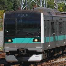E233系マト8編成が多摩線で日中に試運転
