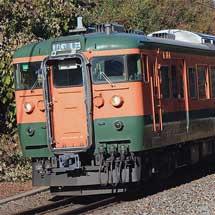 115系N9編成が篠ノ井線で試運転