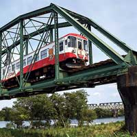 日本の鉄道遺産アメリカ系トラスの風格 −樽見鉄道・揖斐川橋梁−
