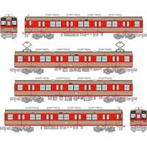 鉄コレ東武鉄道8000系ツートンカラー塗装4両セット