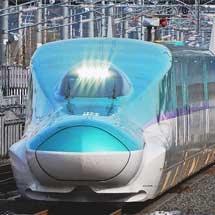 H5系が東北新幹線内で試運転