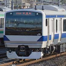 E531系3000番台K552編成が出場