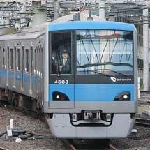 小田急4000形4063編成が常磐緩行線内で試運転