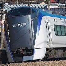 E353系S101+S201編成が中央本線で試運転