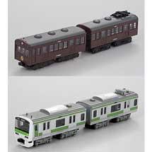 Bトレインショーティー Yamanote History シリーズ「クハ79+モハ72(茶色) 山手線」「E231系500番台1次車 山手線」