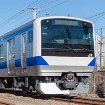 JR東日本,常磐線・水戸線を走るE531系のドア開閉を通年「ボタン式」に