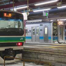 E231系マト129編成が長野へ