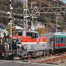 東急田園都市線用5000系中間車が甲種輸送される