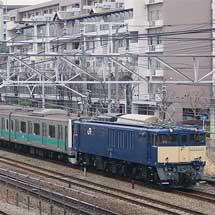 E233系2000番台マト12編成が長野へ