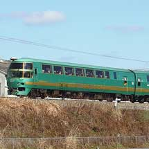 キハ71系が日田彦山線に入線
