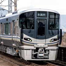 JR西日本,225系144両をJR京都線・JR神戸線などに新製投入〜201系は運転終了へ〜