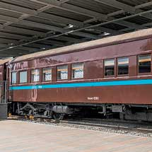5月11日・12日京都鉄道博物館で,『車両探検ツアー「マロネフ59形1号車」・「スシ28形301号車」』実施