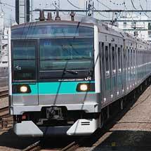 E233系2000番台・小田急4000形の3社直通運転開始