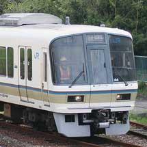 奈良支所の221系が下関総合車両所に入場