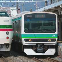 E231系マト131編成が長野総合車両センターから出場