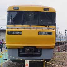 美濃太田車両区・工務区で車両展示