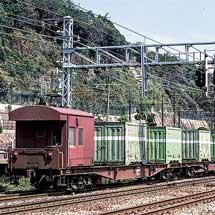 〜現代鉄道貨物輸送の主役〜コキ車を眺める