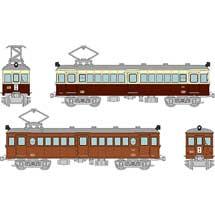 鉄コレ高松琴平電気鉄道レトロ電車 2両セット