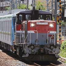 東京メトロ16000系が甲種輸送される