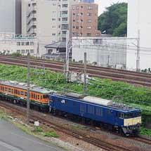 115系4両が長野総合車両センターへ