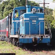 名古屋鉄道3300系3308・3309編成が甲種輸送される
