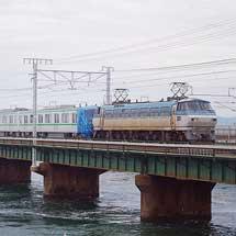 東京メトロ16000系16127編成が甲種輸送される