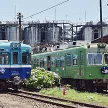銚子電鉄で各イベントPR告知ヘッドマーク