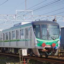 東京メトロ16000系16128編成が甲種輸送される