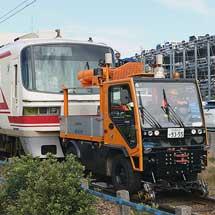 名鉄6000系・1850系が廃車回送される