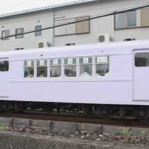 四日市あすなろう鉄道で,サ121が営業運転を終了