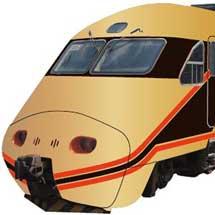 台湾鉄路管理局「自強号」が金色の「日光詣スペーシア」デザインに