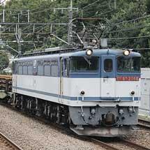 東鷲宮への150mレール輸送が実施される