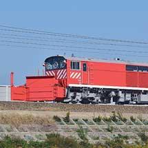 キヤ143−4が敦賀へ自走回送される