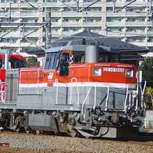 HD300−24が甲種輸送される