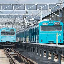JR西日本吹田総合車両所 日根野支所所属103系の現状