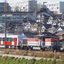 静岡鉄道A3000形第2編成が甲種輸送される