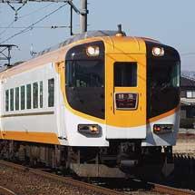 近鉄12410系新塗装のNN13編成が天理線初入線
