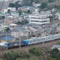 東京メトロ15000系第15編成が甲種輸送される