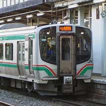 磐越西線でE721系の運転開始