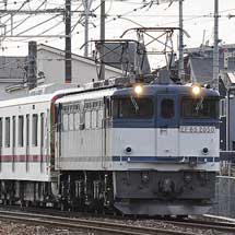 東武70000系第3編成が甲種輸送される